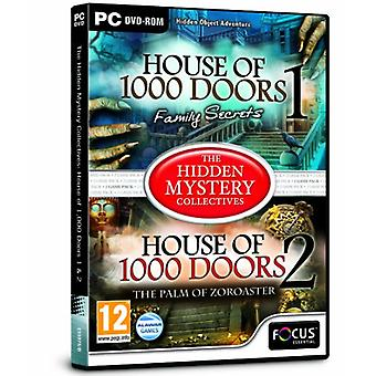 Das verborgene Geheimnis kollektive Haus der 1 000 Türen 1 und 2 (PC-DVD)