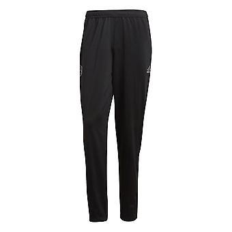 2018-2019 Bayern Munich Adidas Icon Track Pants (Black)