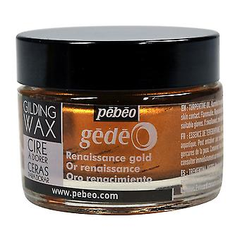 Pebeo Gedeo förgyllning vax 30ml (Renaissance guld)