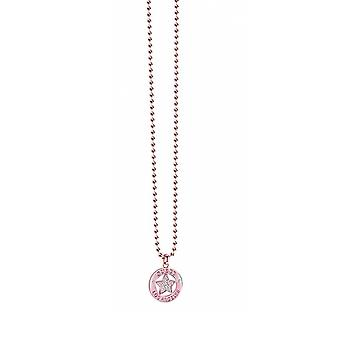 Guess ladies chain necklace stainless steel of rose gold UBN21607
