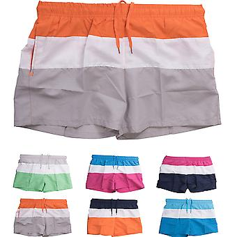 Men's swim shorts short swimsuit summer of shorts beachwear striped Swimshorts