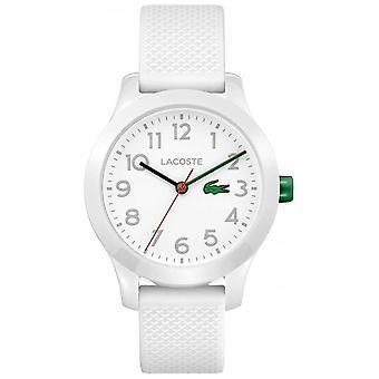 Filhos de Lacoste 12.12 branco relógio 2030003