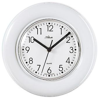 Atlanta 699 kitchen clock wall clock kitchen quartz analog Ceramic ceramic watch white