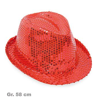 Sequin Hat Red Hat glans Hat sequin