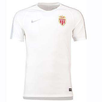 2018-2019 Monaco Nike Squad Training Shirt (White)