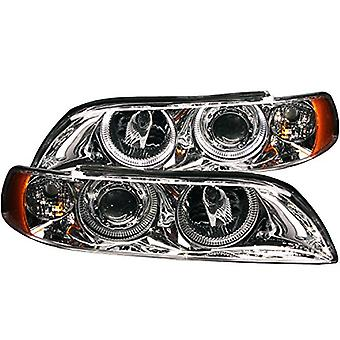 Anzo USA 121018 BMW Chrome Clear Projectors Wit Headlight Assembly - (Sold in Pairs)