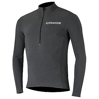 Alpinestars Black-White 2017 Booter Warm Long Sleeved MTB Jersey