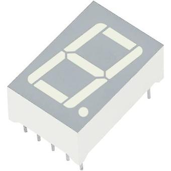 Kingbright Seven-segment display Yellow 14.2 mm 1.95 V No. of digits: 1 SC56-11SYKWA