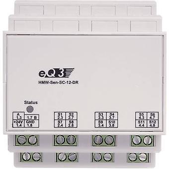 Homematic RS485 schakelaar belasting identificatie HMW-Sen-SC-12 DR 85840 12-kanaals DIN-rail