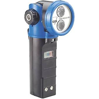 AccuLux Cordless handheld searchlight Black-blue 459581 LED