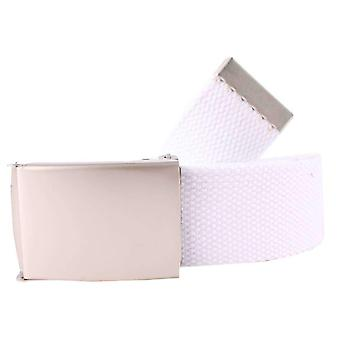 Redlinch Canvas Belt - White
