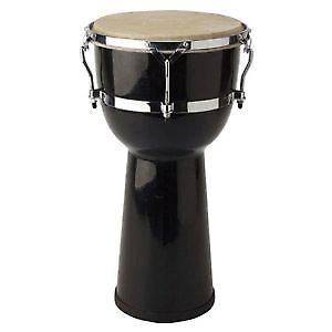 Stagg Black 10inch Fibreglass Djembe