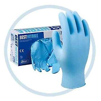 Powder Free Nitrile Disposable Gloves | Blue | General Purpose | Pack of 200 | Medium Size