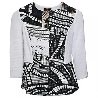 Tivoli Cotton Jacket With Bold Button Detail