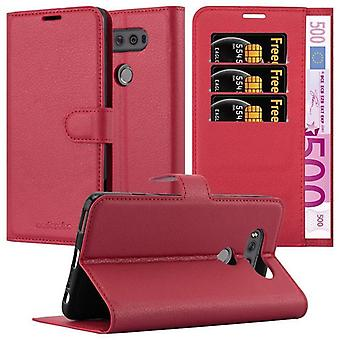 Cadorabo Case for LG V20 Case Cover - Phone Case with Magnetic Closure, Stand Function and Card Case Compartment - Case Cover Case Case Case Case Case Book Folding Style