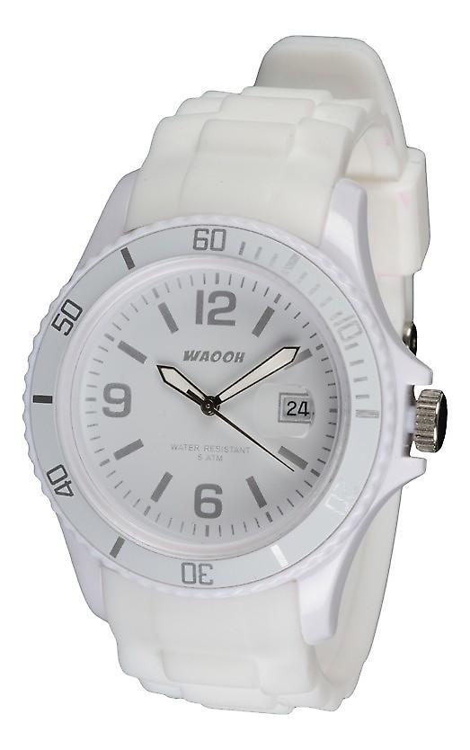 Waooh - klockor - klocka Monaco 44 White Dial färg