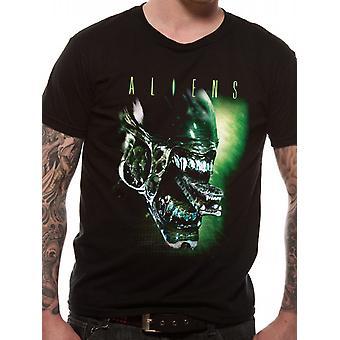 Aliens-Alien Kopf T-shirt