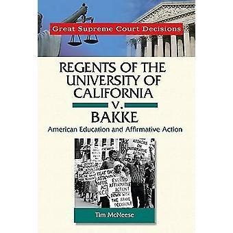 Regents of the University of California v. Bakke av Tim McNeese - 978