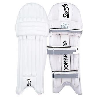 Kookaburra 2019 Ghost 2.0 Cricket Batting Pads Leg Guards White/Grey