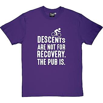 Descensos no son para camiseta recuperación hombres