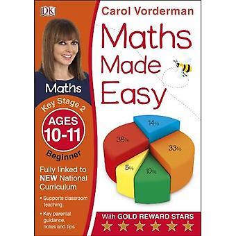Matte gjorde lätt åldrar 10-11 Key Stage 2 nybörjare (Carol Vorderman matematik lätt)