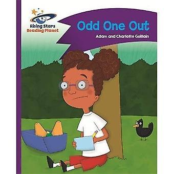 Lecture planète - Odd One Out - Violet: Comet Street Kids - Rising Stars lire la planète (broché)