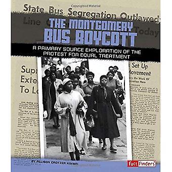Bojkot autobusów Montgomery: Głównym źródłem poszukiwania protestu dla równego traktowania (We Shall Overcome)