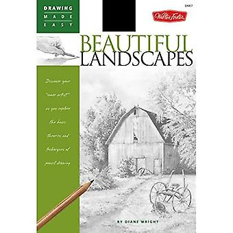 Drawing Made Easy: Beautiful Landscapes: Discover Your  Inner Artist  as You Explore the Basic Theories and Techniques of Pencil Drawing (Drawing Made ... of Pencil Drawing (Drawing Made Easy)