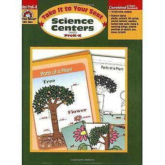 Science Centers årskurs PreK-K (ta den till din sittplats)