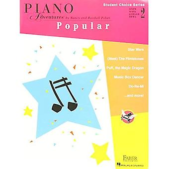 Faber Piano Adventures - Student Choice Series: Popular Level 2