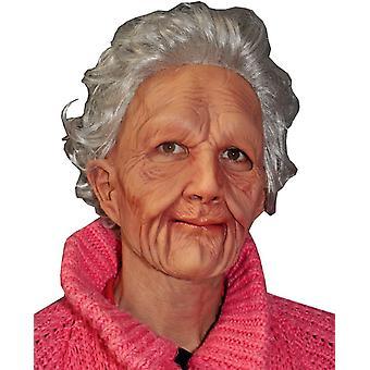 Máscara de anciana extrasuave para adultos