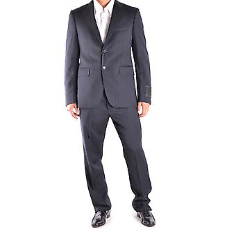 John Richmond Black Wool Suit