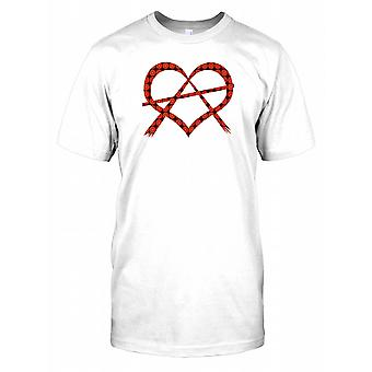 Love is Freedom - Anarchy with Violence Kids T Shirt