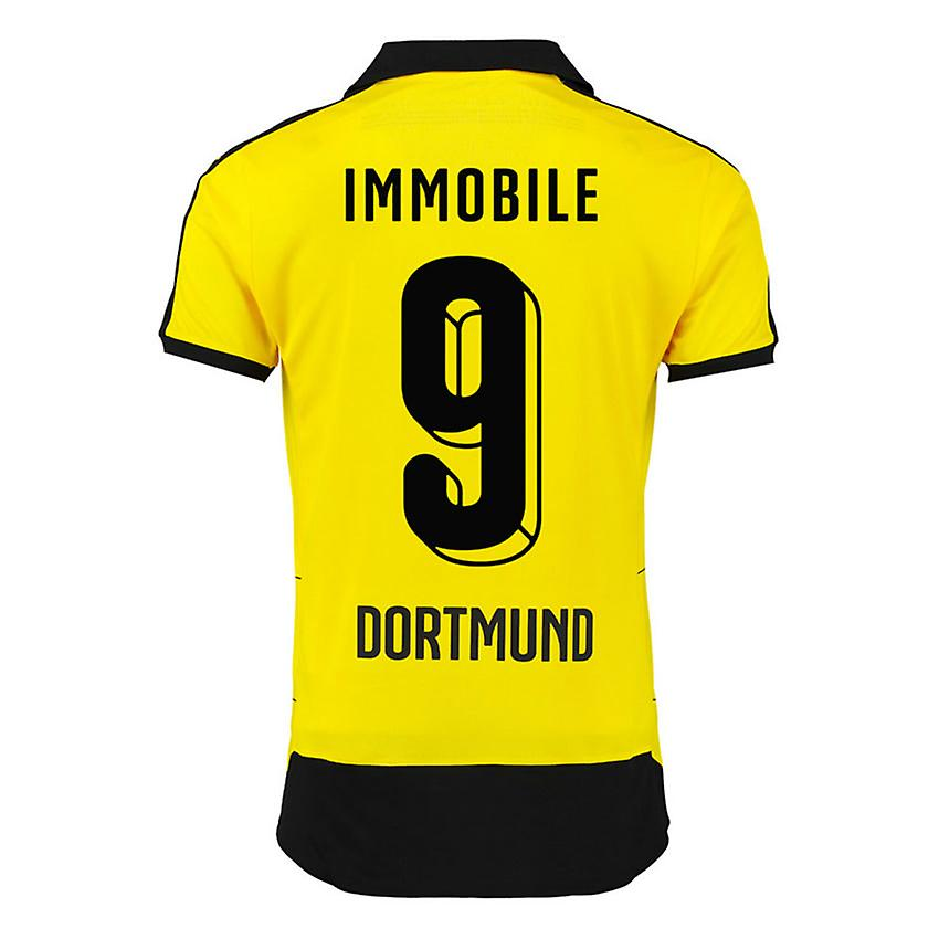 2015-16 Borussia Dortmund Home Shirt (Immobile 9)