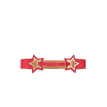 Elisabetta Franchi Pink Synthetic Fibers Belt