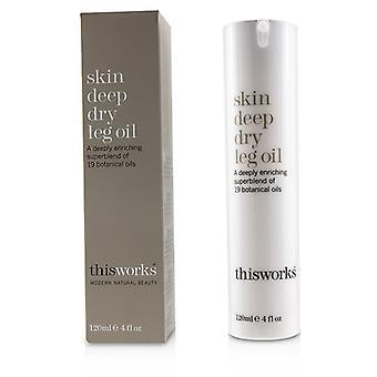 Dit werkt huid diepe droge been olie-120ml/4oz