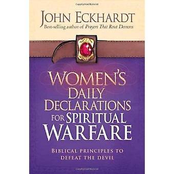 Women's Daily Declarations for Spiritual Warfare - Biblical Principles