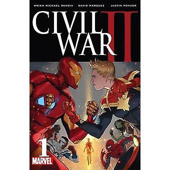 Civil War II by Brian Bendis - David Marquez - 9781846537554 Book