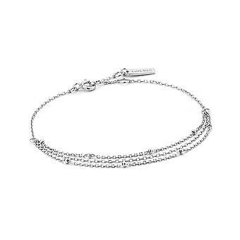 Ania Haie Sterling Silver 'Draping Swing' Bracelet