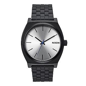 Nixon Time Teller schwarz / silber (A045180)