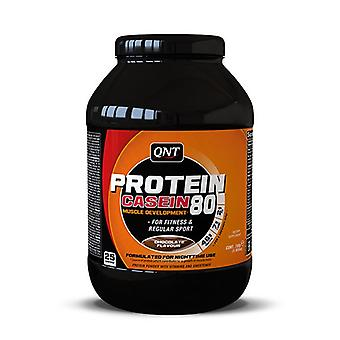 QNT Protein 80 Concentrated Calcium Caseinate Whey Muscle Powder - Chocolate