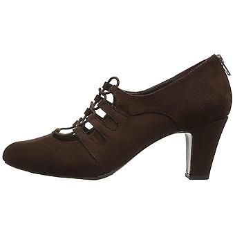 Easy Street Womens Jennifer Suede Closed Toe Classic Pumps