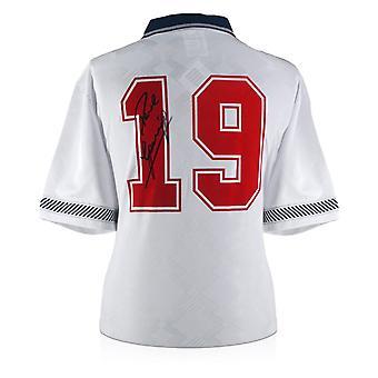Paul Gascoigne Signed England 1990 Shirt