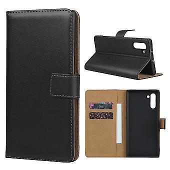 Samsung Galaxy Note 10 Brieftasche Case-Black