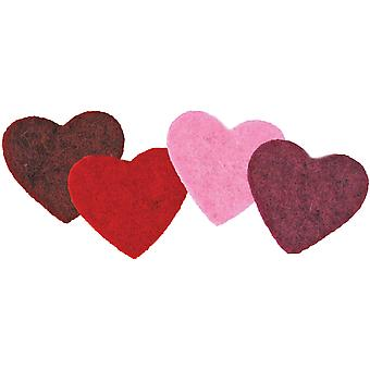 Feltworks Multi Color Hearts 72 73951