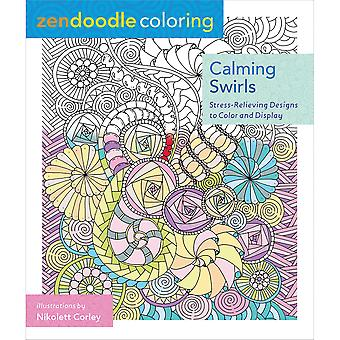 St. Martin's Books-Zendoodle Coloring: Calming Swirls SM-86495