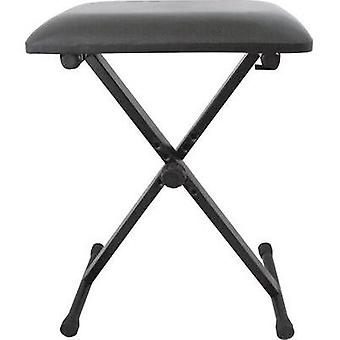 Keyboard stool MSA Musikinstrumente KB 4 Black he