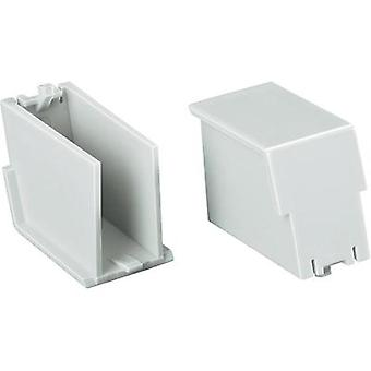 DIN rail casing (filler plug) 17.6 Polycarbonate (PC) Light gr