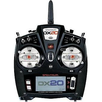 Spektrum DX20 Handheld RC 2,4 GHz No. of channels: 20 Incl. receiver