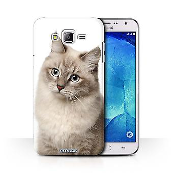 STUFF4 Case/Cover for Samsung Galaxy J7/J700/Siberian/Cat Breeds